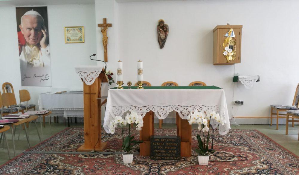 Rímskokatolícka cirkev, Farnosť Považská Bystrica – Svätej rodiny